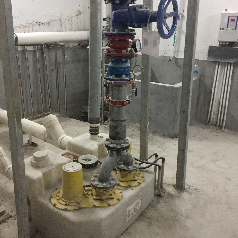 地铁站台污水提升装置